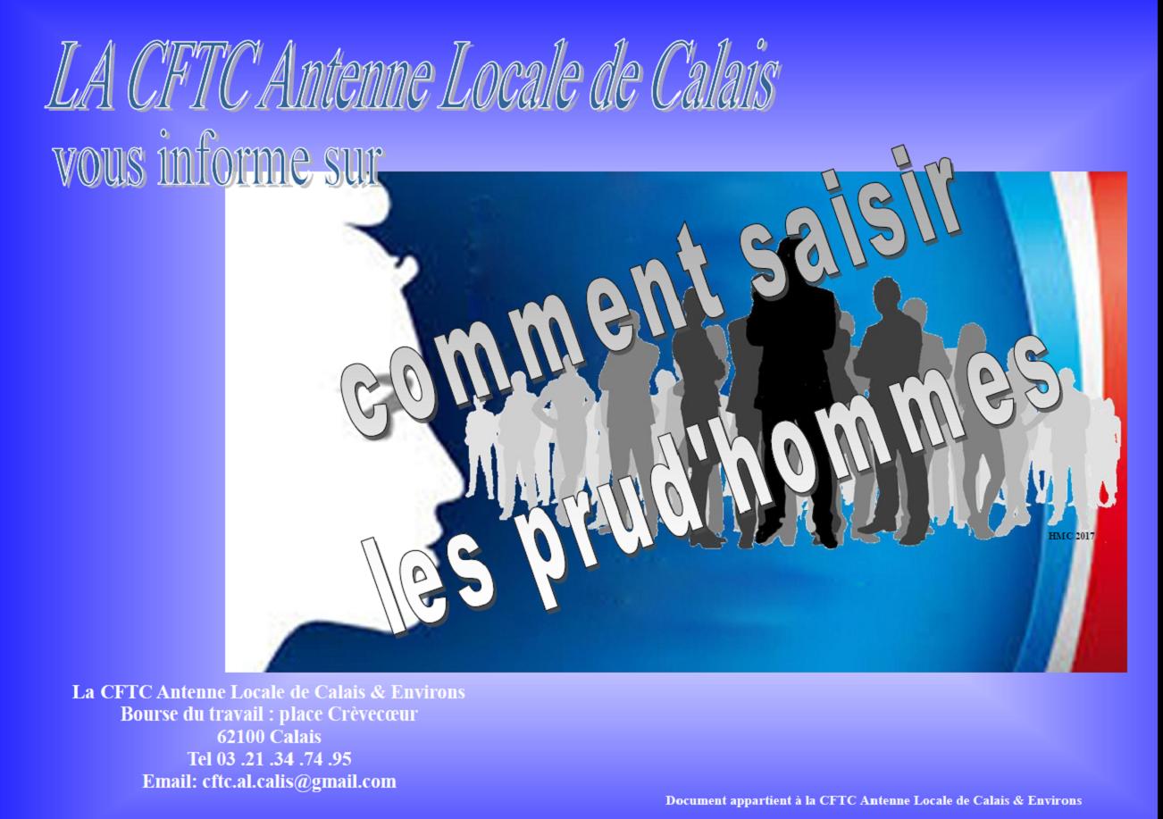 ca329a04364 Comment saisir les Prudhommes ! – Antenne locale CFTC Calais   Environs